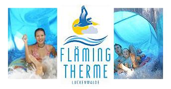 фото Аквапарк «Луккенвальде - Флемингтерме (Luckenwalde - Flämingtherme)» лого